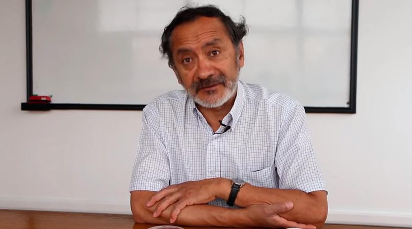 Ricardo Tapia habla sobre desastres socionaturales