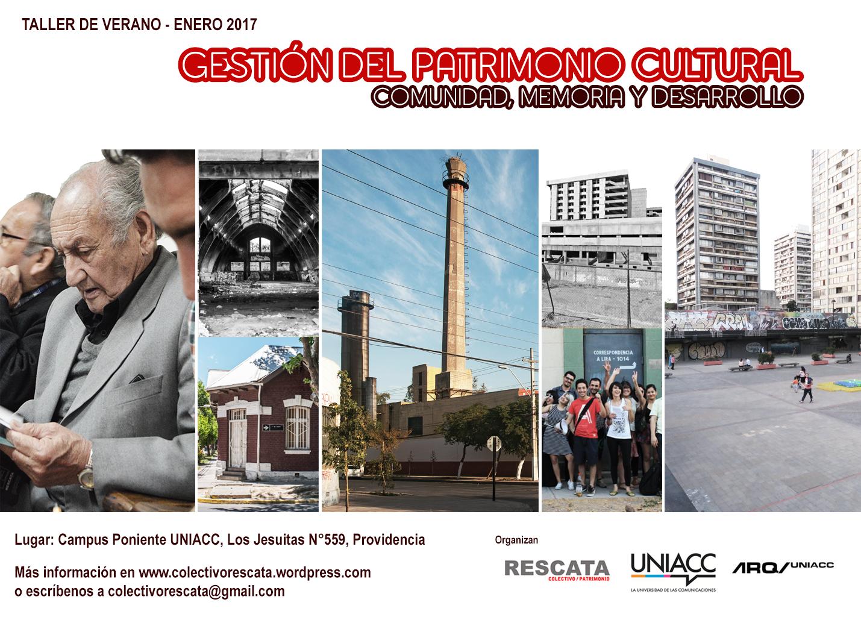 Gestión del Patrimonio Cultural: comunidad, memoria y desarrollo