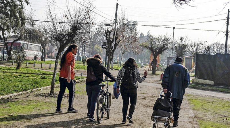 10 de Julio 2018  Barrio Juanita Aguirre, en la comuna de Conchali, Santiago.    Foto Reinaldo Ubilla
